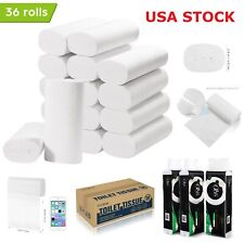 36 Roll Paper Towels Soft Bulk Bath Tissue Bathroom 4Ply Soft Household Supplies