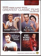 TCM Greatest Classic Films Collection Romantic Dramas 4-Movies BRAND NEW