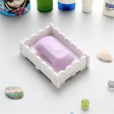 Natural Wood Soap Tray Holder Dish Box Case Storage Novelty Shower Wash Case SH