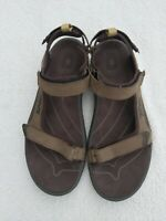 Teva Men's Size 13 Tanza M's Olive Green Hiking and Water Sport Sandals
