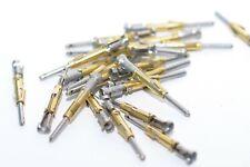 100x Stiftkontakte von ITT Cannon Serie T2P16, 18 - 16 AWG, Car Crimp Contacts