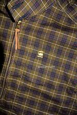 G Star Raw Correct Line Plaid Light Weight Jacket sz XXL nwt
