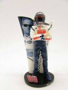 "Dale Earnhardt Jr. 88 NASCAR Collectible Ornament 4"" figurine National Guard"
