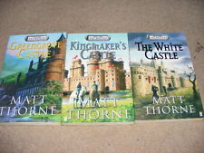 39 Castles books 1, 2 & 3 by Matt Thorne Greengrove, Kingmaker's & The White