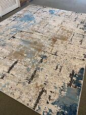 8' X 10' Elegant Modern Area Rug Abstract Power Loom Quality  A+ Carpet
