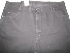 NWT Wrangler Rugged Wear Relaxed Fit Regular Black Jeans Men's Size 48 x 30