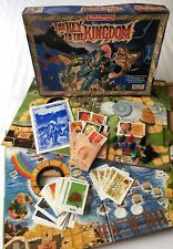 VINTAGE WADDINGTONS THE KEY TO THE KINGDOM FANTASY BOARD GAME 100% COMPLETE 1990