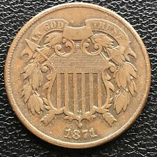 1871 Two Cent Piece 2c High Grade #16060