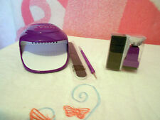 Avon Nail Polish Dryer,Art Sponge,Dual Ended Brush & Dotting Tool and File