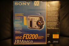 Brand NEW Factory Sealed Sony Mavica MVC FD200 2.0MP Digital Camera