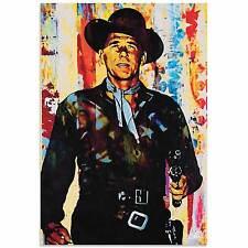 Pop Art 'Ronald Reagan Generation Extinction' - Ltd. Ed. Giclee Metal Artwork