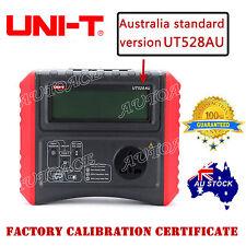 UNI-T EARTH INSULATION Resistance PAT TESTER METER UT528AU OZ SELER