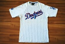 LOS ANGELES DODGERS MLB MENS MAJESTIC SHIRT JERSEY COTTON WHITE SIZE MENS SMALL