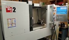 Haas  Mini Mill 2 with Tooling- 4th Axis, Year 2013 - Video Available