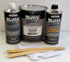 5 Star Low Voc high performance Oxford White urethane auto paint single stage