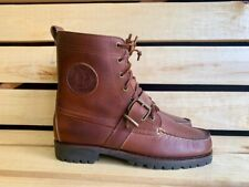 Polo Sport Ralph Lauren Ranger Country Boots Cookie Vintage Sz 8 12
