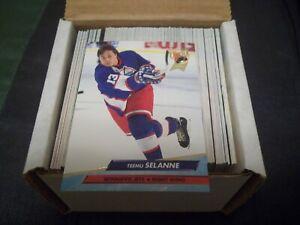 1992-93 Ultra Hockey Series 2 Set #251-450