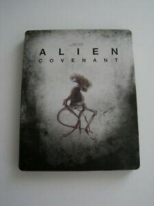 Alien Covenant (Blu ray Disc + Steelbook ) Like New
