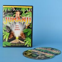 Jumanji DVD - Deluxe Edition - Robert Williams - Bilingual
