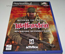 Return To Castle Wolfenstein Operation Resurrection PS2 PAL *Complete*