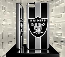 Coque rigide pour iPhone SE Oakland Raiders NFL Team 02