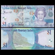 Cayman Islands 1 Dollar, 2010(2015), P-38c, UNC