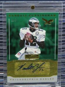 2016 Signature Series Randall Cunningham Auto Autograph #1/5 Eagles R29