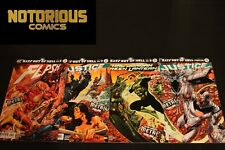 Bats Out of Hell 1-4 Complete Dark Nights Metal Tie In Flash Justice League Hal
