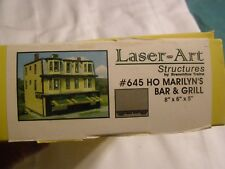 HO Scale Laser-Art Structures Marilyn's Bar and Grill #645 (54)