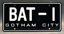 Batman '66 Batmobile / BAT-1 *Metal Stamped* Standard USA Size License Plate