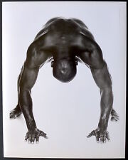 Photo André Rau - Evander Holyfield - Tirage argentique d'époque 1994 - Boxe -