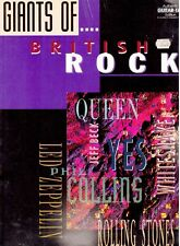 Giants of British Rock, NEW Guitar TAB Music Book.