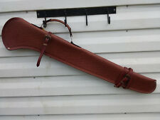 "40"" Basket Tooled Leather Rifle Gun Scabbard Case Holster Western Saddle Hunting"