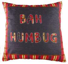 17 inch Bah Humbug Christmas XMAS Grumpy Cushion