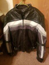 Mens Xelement Mesh Motorcycle Jacket Size Large.
