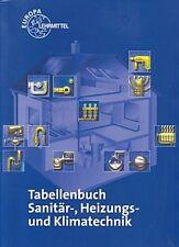 Tabellenbuch Sanitär- Heizungs- und Klimatechnik