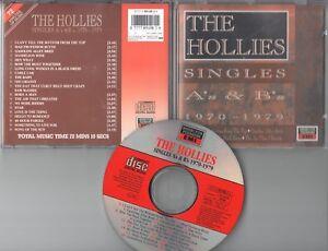 The Hollies  CD  SINGLES  A & B  1970 - 1979