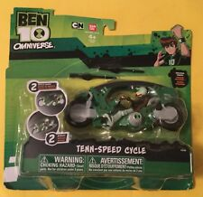 BEN 10 Tenn Speed Cycle action figure set MOC Tennyson Bandai Alien DNA vehicle