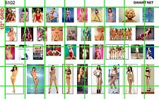 6102 DAVE'S DECALS PIN UP SETS 70'S & 80'S SEXY WOMEN POSTERS 4 DIORAMA HALF SET