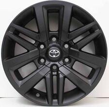 18 inch Genuine TOYOTA NEW MODEL HILUX 2015 MODEL SR5 ALLOY WHEELS IN BLACK