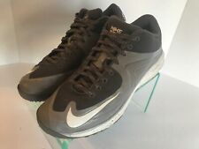 Nike Lunar MVP Pregame 2 Gray White Running Shoes 684690-011 Men's Size 8.5