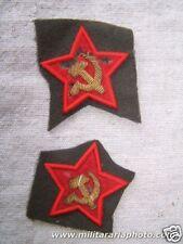 WW2 Red Army / Soviet Russian Politruk sleeve stars set