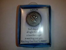 Caitlin Watching Over You Guardian Angel Token Coin Medallion Keepsake by Ganz