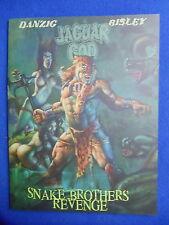VEROTIK JAGUAR GOD:SNAKE BROTHERS REVENGE TPB ~2012~HARD TO FIND! BISLEY  DANZIG