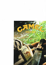PUBLICITE ADVERTISING    1986   CAMEL  cigarettes