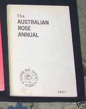 Australian Rose Annual 1967 National Rose Society Aust