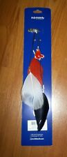 NEW Boston Red Sox Fan Feathers Hair Clip Accessory official MLB gear