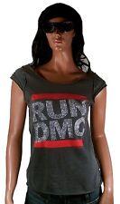WOW Amplified COURSE DMC strass 80' ème hip hop rock star VIP vintage tee-shirt