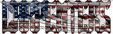 "American Flag Carpenter 6"" x 2"" Decal/Sticker FREE SHIPPING!!"
