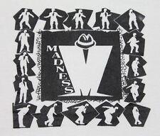 M * thin vtg 80s Madness t shirt * ska 2 tone * 26.144